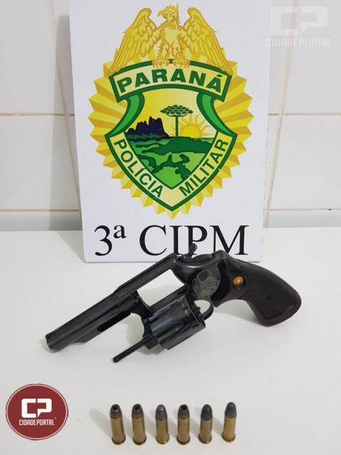 Polícia Militar prende homem por violência doméstica e porte ilegal de arma em Santa Cruz de Monte Castelo