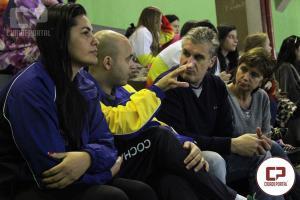 Técnico da Seleção Brasileira de Handebol acompanha disputas da modalidade nos JEPS