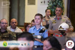 Polícia Militar realiza culto ecumênico em alusão aos 165 anos da PMPR em Maringá