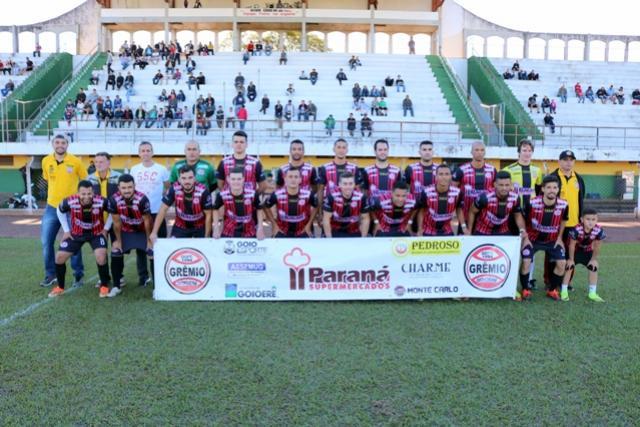 Grêmio Goioerê recebe o Ubiratã nesta sexta, 07 pensando na classificação à semifinal do Amadorzão 2018