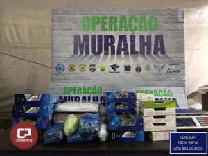 Eletrônicos de alto valor são retidos durante fiscalização da Operação Muralha no Paraná