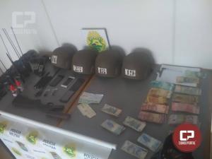 BPFron apreende arma, munições e entorpecente em Marechal Cândido Rondon e Pato Bragado no PR