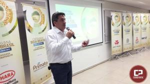 Marcio Bonesi apresentou palestra da história da Aprosoja Brasil e Aprosoja Paraná em Toledo