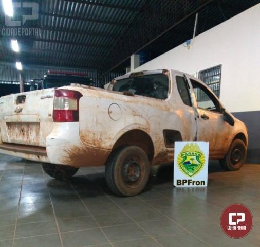 Batalhão de Polícia de Fronteira recupera veículo furtado em Guaíra/PR