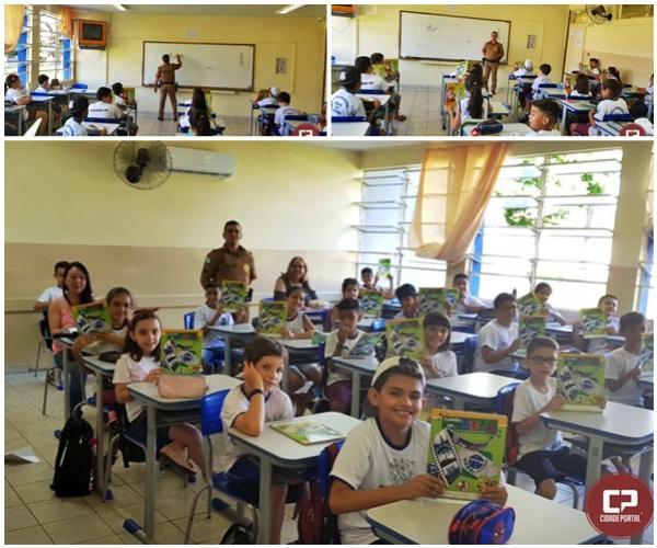 Aulas do PROERD tiveram início nesta semana em Goioerê