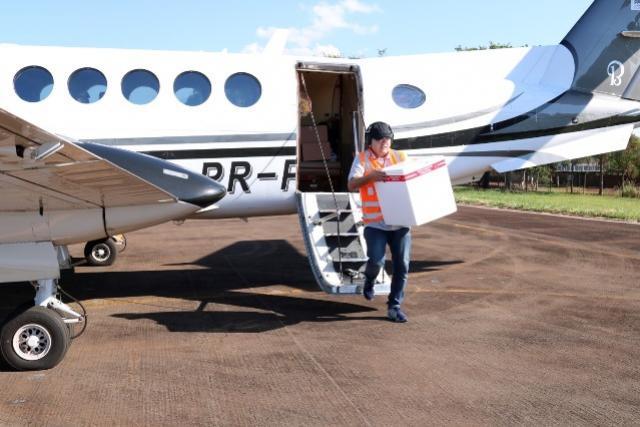 Aeronaves do Governo já coletaram 1.457 amostras para testes de coronavírus