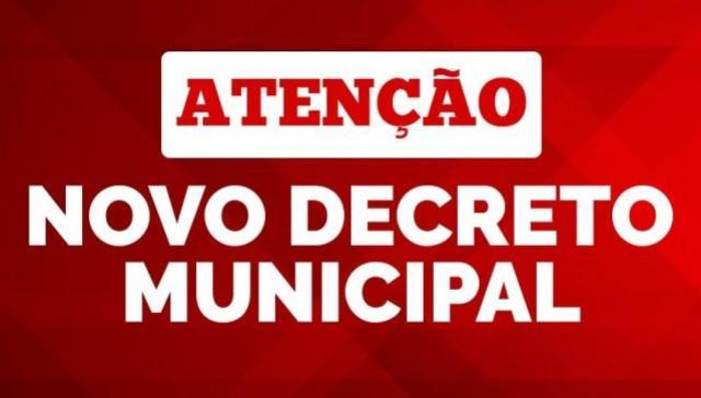 Com queda dos casos ativos, Prefeitura publica novo decreto flexibilizando as medidas restritivas