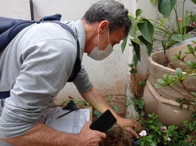 Agentes de Saúde e Dengue realizam mutirão de visitas de combate à dengue nesta quinta e sexta-feira