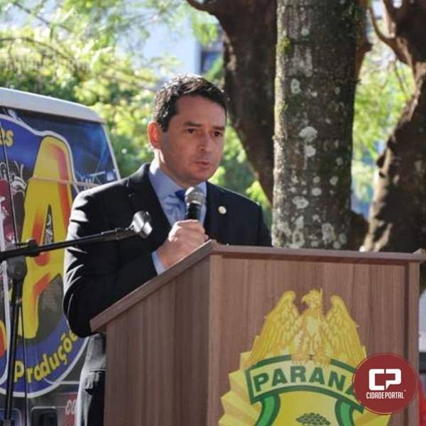 Juízes de Direito prestigiam aniversário do BPFRon em Marechal Cândido Rondon