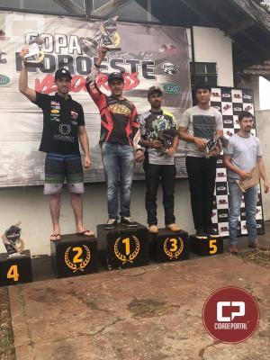 Pilotos da equipe VX Racing de Goioerê se destacamem mais uma prova deVelocross em Cianorte