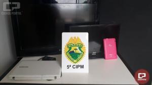 Polícia Militar recupera objetos furtados em Cianorte