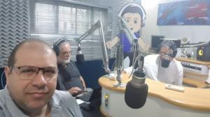Diretor do Cidade Portal participa do programa Espaço Aberto na Rádio 104 FM