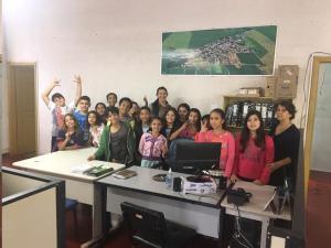 Alunos da Escola Municipal desenvolvem projeto sobre a importância da Comunicação para a preservação do Meio Ambiente