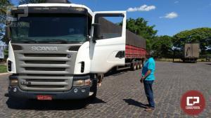 Polícia Federal em Maringá apreende caminhão carregado de cigarros contrabandeados em Santa Fé no Paraná