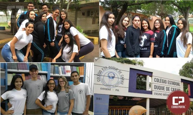 Corpo docente do Colégio Duque de Caxias parabeniza alunos que passaram no vestibular