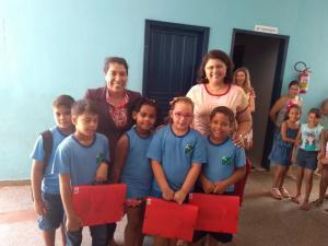 Kits Escolares foram entregues para alunos da Rede Municipal de Ensino de Rancho Alegre D'Oeste