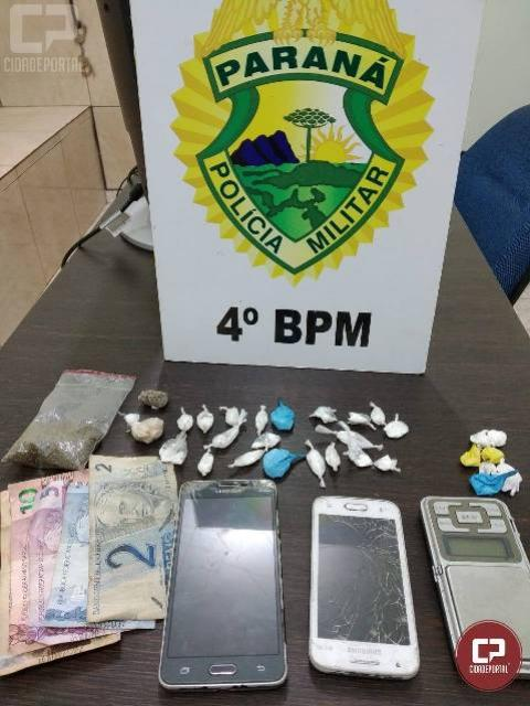 Polícia Militar prende traficantes e apreende drogas em Maringá