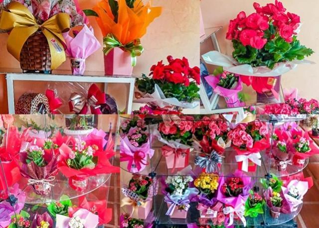 A Floricultura Quatro Estações homenageia todas as mulheres