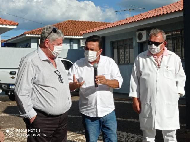 Betinho Lima liberou mais de R$ 1 milhão para socorrer as Santas Casas de Goioerê e Campo Mourão