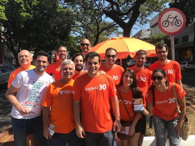 Goioerê recebe o núcleo do partido NOVO e o Pré candidato a deputado federal Tiago Martines
