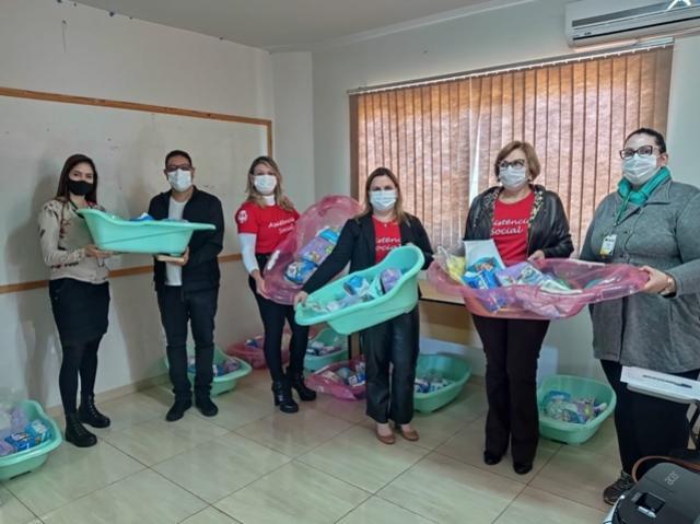 Assistência Social de Goioerê realizou entrega de kits para gestantes