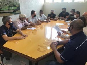 Vereadores se reúnem e iniciam estudos para readequação administrativa