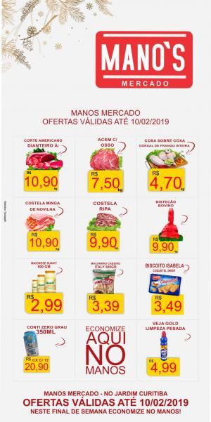 Final de Semana com Economia? vai para o Manos Mercado! - aproveite as ofertas até domingo dia 10