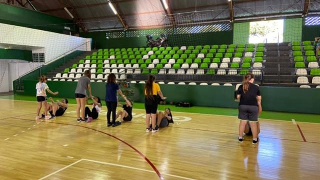 Secretaria de Esportes retomou as aulas das escolinhas esportivas