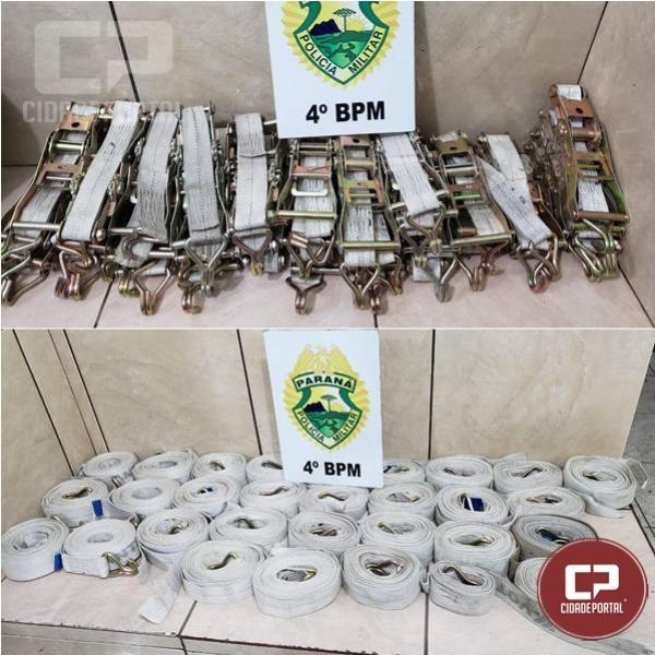 Polícia Militar encaminha dois homens por furto em Maringá