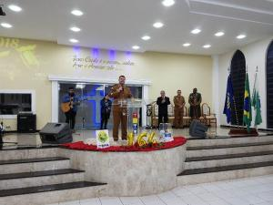 7° BPM Comemora o 164º Aniversário da Polícia Militar do Paraná com Celebração de Culto e Missa de ação de graças