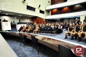 Sargento do 7º BPM e mais 40 policiais militares do Paraná recebem menção Honrosa da ALEP