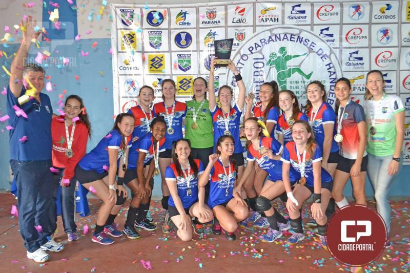 Inscrições abertas ao Campeonato Paranaense de Handebol Infantil