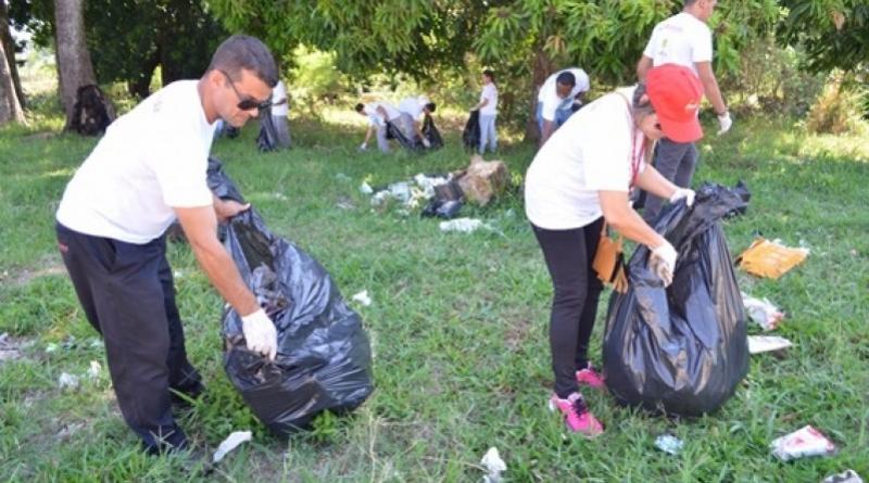 Prefeitura de Goioerê promove limpeza coletiva em torno do Arroio Schmidt e convida ao cidadão goioerense ser solidário