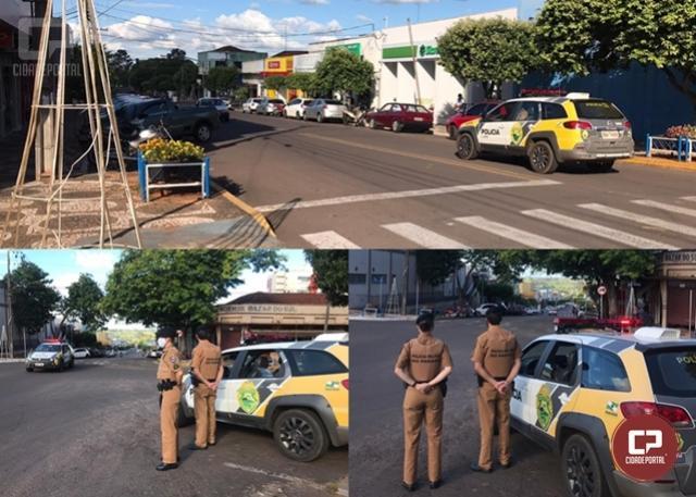 Polícia Militar inicia Operação Natal e 7º BPM reforça presença nas ruas