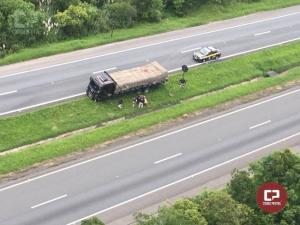 Após 63 km de fuga e tiros, PRF prende caminhoneiro que dirigia sob efeito de cocaína