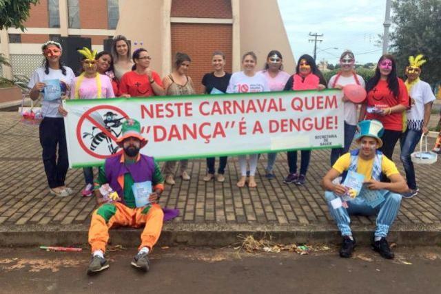 Saúde de Goioerê promove pedágio consciente de carnaval