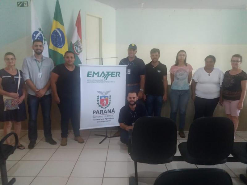 Reunião para organizar a 2ª Caminhada Internacional da Natureza no município de Iretama