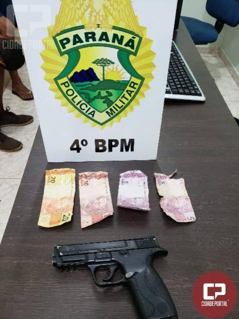 Polícia Militar prende dois suspeitos de roubo a farmácia em Maringá