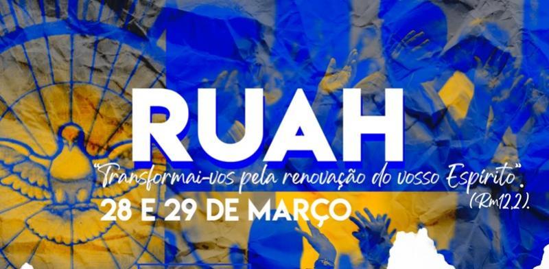 É com muita alegria que convidamos você a participar do 1º RUAH
