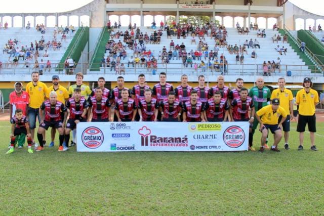 Grêmio Goioerê vence Janiópolis diante de sua torcida e segue na liderança do grupo