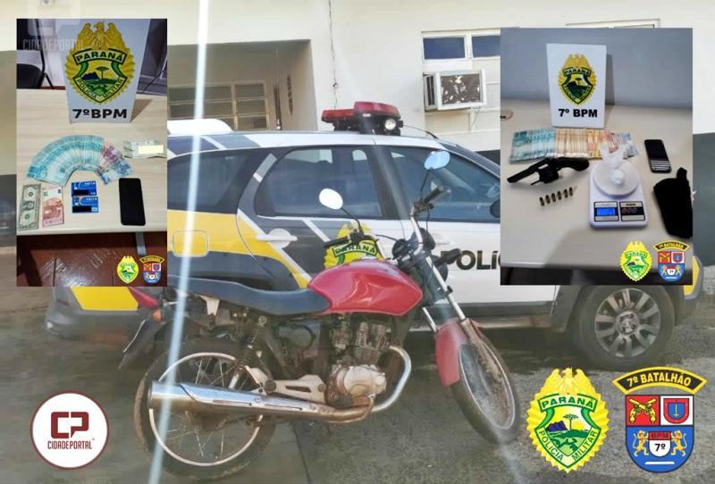 Operação Policial prende duas pessoas e apreende drogas, armas e munições em Goioerê e Moreira Sales