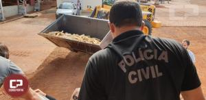 Denarc incinera mais de 4 Toneladas de drogas em Cafelândia