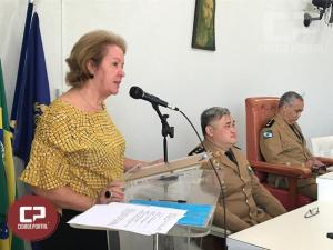 7º BPM Comemora os 165 anos da Polícia Militar do Paraná com Solenidade Militar