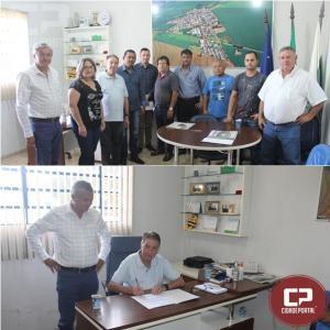 Assinada ordem para a construção galeria para contenção de águas da chuva em Quarto centenário