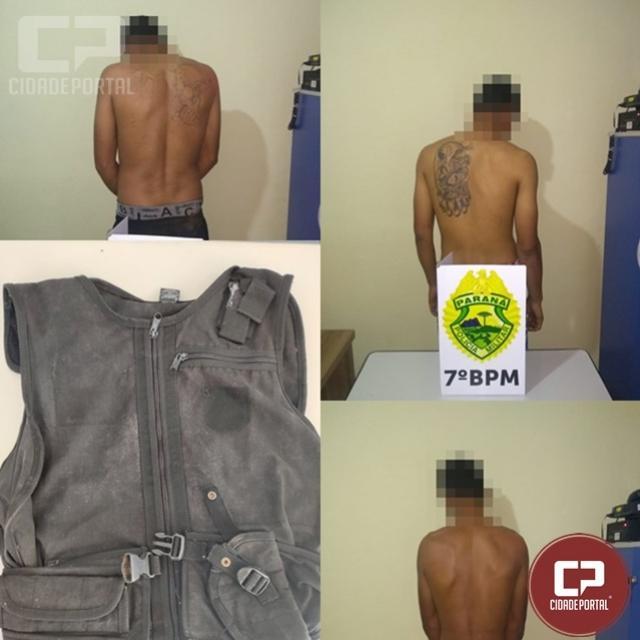 Operação conjunta do 7º BPM e 17ª DRP de Cruzeiro cumprem mandado de busca e apreensão