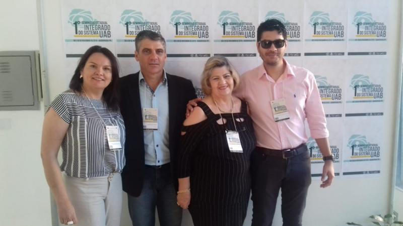 Polo UAB de Goioerê presente no 1° Seminário Estadual Integrado do Sistema UAB