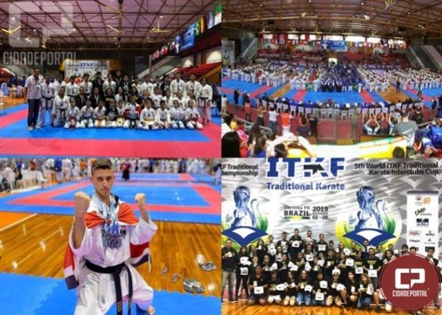 A academia Souza retorna com 24 medalhas do Campeonato Mundial Interclubes