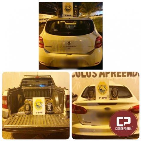 Polícia Militar cumpre mandado de prisão e recupera três veículos em Maringá
