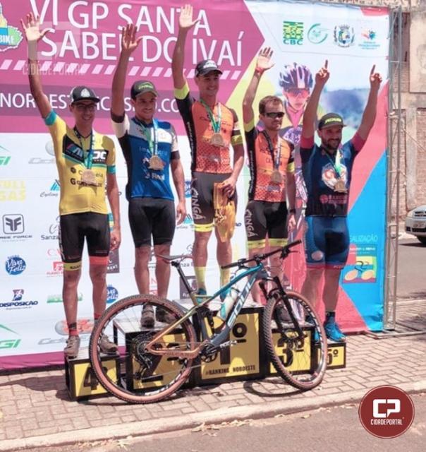 Ciclista Goioerense Victor Hugo Mostachio vence 1ª Etapa do VI GP Santa Isabel do Ivaí
