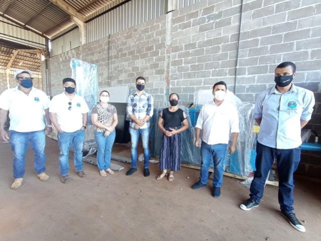Associação de Coletores de Goioerê recebeu equipamentos